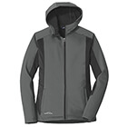 Eddie Bauer Women's Trail Soft Shell Jacket - Metal Grey/ Grey Steel