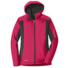 Eddie Bauer Women's Trail Soft Shell Jacket - Pink Lotus/ Grey Steel