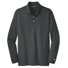 Nike Men's Dri-Fit Tech Long Sleeve Polo - Anthracite