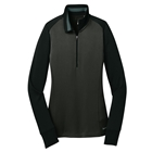 Nike Women's Dri-Fit Tech Long Sleeve Polo - Anthracite