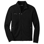 Eddie Bauer Men's Full-Zip Fleece Jacket - Black