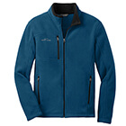 Eddie Bauer Men's Full-Zip Fleece Jacket - Deep Sea Blue
