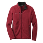 Eddie Bauer Men's Full-Zip Fleece Jacket - Red Rhubarb