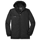Eddie Bauer Men's Packable Wind Jacket - Black