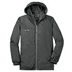 Eddie Bauer Men's Packable Wind Jacket - Grey Steel