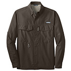 Eddie Bauer Men's Long Sleeve Performance Fishing Shirt - Boulder