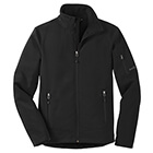 Eddie Bauer Men's Rugged Ripstop Soft Shell Jacket - Black/ Black
