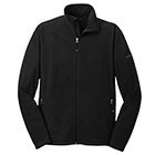 Eddie Bauer Men's Full-Zip Micro Fleece Jacket - Black