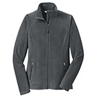 Eddie Bauer Women's Full-Zip Microfleece Jacket - Grey Steel
