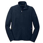 Eddie Bauer Men's Full-Zip Micro Fleece Jacket - Navy