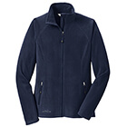 Eddie Bauer Women's Full-Zip Microfleece Jacket - Navy