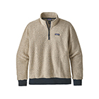 Patagonia Men's Woolyester Fleece Pullover - Oatmeal Heather