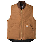 Carhartt Men's Duck Vest - Carhartt Brown