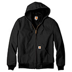 Carhartt Men's Thermal-Lined Duck Active Jacket - Black