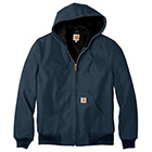 Carhartt Men's Thermal-Lined Duck Active Jacket - Dark Navy