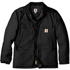 Carhartt Men's Duck Traditional Coat - Black