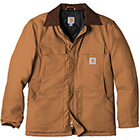 Carhartt Men's Duck Traditional Coat - Carhartt Brown