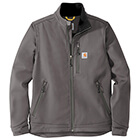 Carhartt Men's Crowley Soft Shell Jacket - Charcoal
