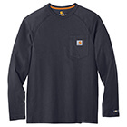 Carhartt Force Cotton Delmont Long Sleeve T-Shirt